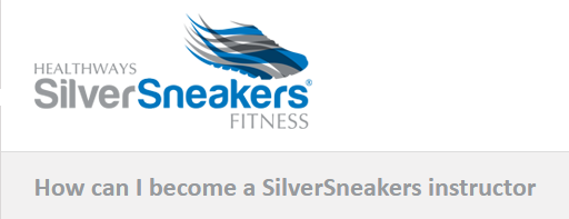 Silver Sneakers has approved our