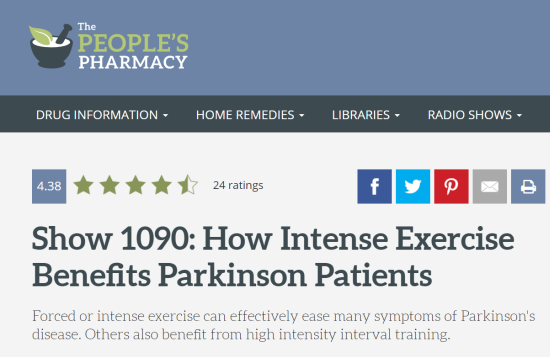 Parkinson\'s Cycling Coach - Online training to coach Indoor Cycling ...